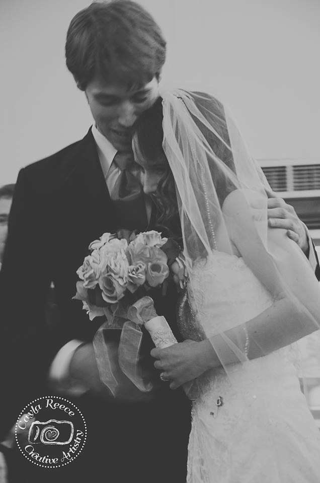My wedding, photo by Cayla