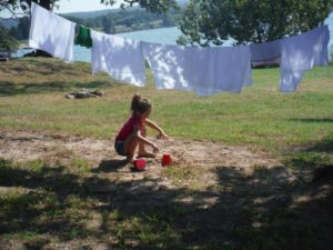 How to Cloth Diaper While Camping (No Disposables Necessary!) Guest Post